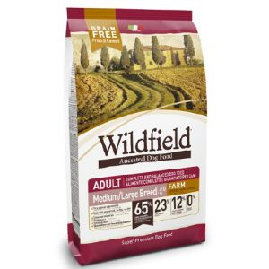 WILDFIELD ADULT FARM CHICKEN DUCK AND EGGS MEDIUM / LARGE BREED