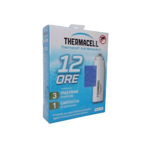 Thermacell 3 piastrine 1 cartuccia gas